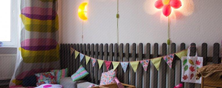 Zaun, Kinderzimmer